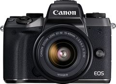 Canon EOS M5 Mirrorless Camera (EF-M15-45mm Lens)