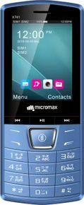Nokia 105 Dual Sim (2017) vs Micromax X741