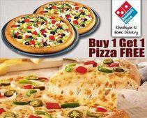 Buy 1 Get 1 Pizza Free | Extra 25% Cashback via Mobikwik