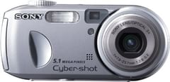 Sony Cybershot DSCP93A 5MP Digital Camera