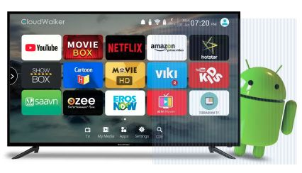 b96be2619fbc Cloudwalker Cloud TV 50SF (50-inch) Full HD LED Smart TV Best Price in India  2019, Specs & Review | Smartprix