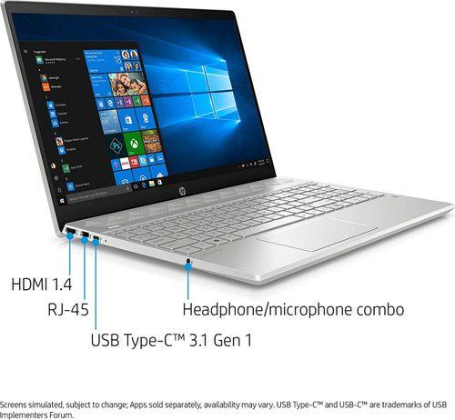 HP Pavilion 15-cs2096tx (7NH50PA) Laptop (8th Gen Core i7/ 8GB/ 256GB SSD/ Win10)